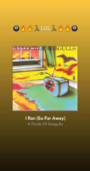 I Ran (So Far Away) - Flock of Seagulls