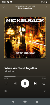 When We Stand Together - Nickleback